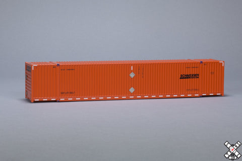 HO CIMC 53' Corrugated Dry Container, Schneider