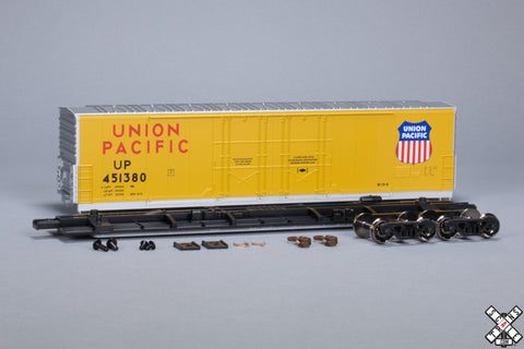 HO Evans (USRE) 5100 RBL 8' Double-Plug-Door Boxcar, Union Pacific UP