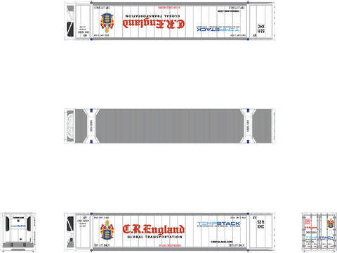 N CIMC 53' Reefer Container 3-Pack, CR England