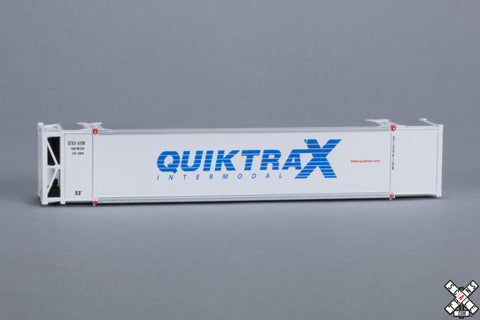 N CIMC 53' Reefer Container, Quicktrax