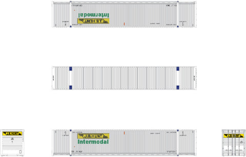 N CIMC 53' Corrugated Dry Container, JB Hunt/Intermodal