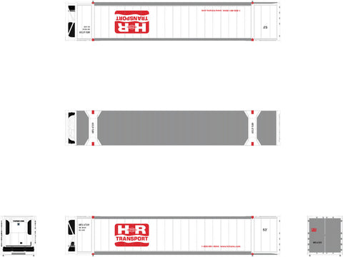 N CIMC 53' Reefer Container, H&R Transport