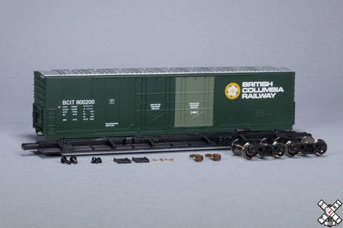 Toledo Peoria & Western HO Scale Evans 5100 RBL Boxcar by