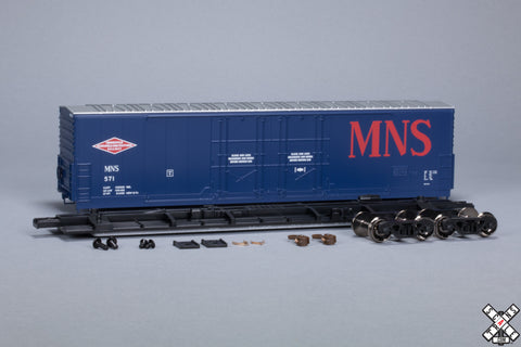 HO Evans (USRE) 5100 RBL 8' Double-Plug-Door Boxcar, Minneapolis Northfield & Southern MNS