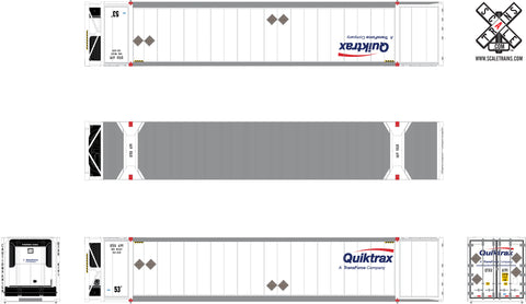 Operator HO Scale 53' Dry CIMC Reefer Containers by ScaleTrains.com