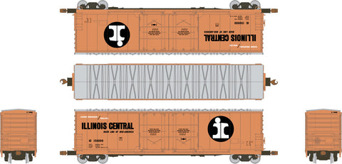 HO Evans (USRE) 5100 RBL 8' Double-Plug-Door Boxcar, Illinois Central