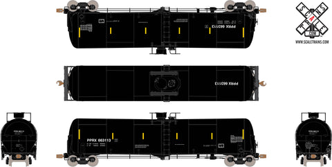 Operator HO Scale TrinityRail 31K Tank Car with Head Shields, Phillips/PPRX