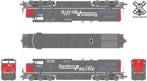 Operator HO Scale GE DASH 9-40CW Diesel Locomotive by ScaleTrains.com
