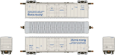 HO Evans (USRE) 5100 RBL 8' Double-Plug-Door Boxcar, Armstrong