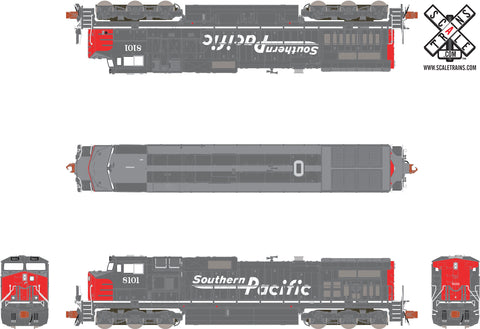 Operator N Scale GE DASH 9-44CW, Southern Pacific/Speed Lettering