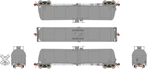 Undec Half Ladder HO TrinityRail 31K Crude Oil Tank Car