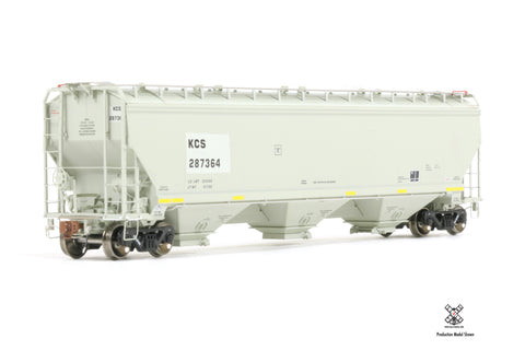 Rivet Counter HO Scale Gunderson 5188cf Covered Hopper by ScaleTrains.com
