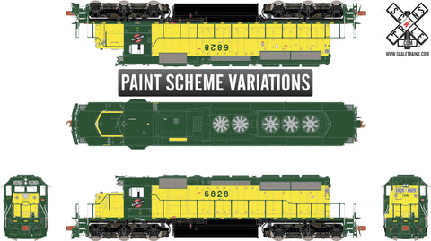 Rivet Counter HO Scale EMD SD40-2, Chicago & North Western/Zito Yellow