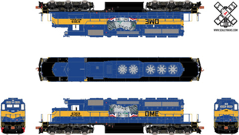Rivet Counter HO Scale EMD SD40-2, DM&E/Mt. Rushmore