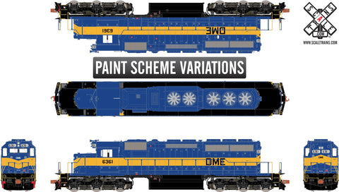 Rivet Counter HO Scale EMD SD40-2, DM&E