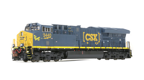 Rivet Counter HO Scale GE Tier 4 GEVo, CSX/Spirit of Ravenna/#3440