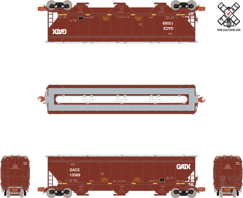 Rivet Counter N Scale Gunderson 5188 Covered Hopper by ScaleTrains.com