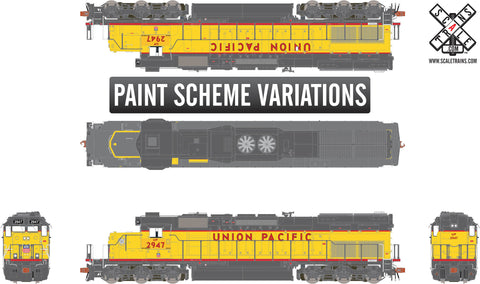 Rivet Counter HO Scale EMD SD40T-2, Union Pacific
