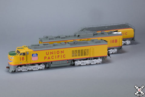 "Museum Quality HO Scale Union Pacific GTEL 8500 Horsepower ""Big Blow"" Turbine #18"