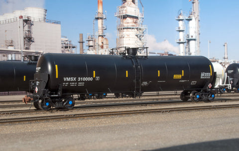 HO TrinityRail 31K Crude Oil Tank Car, VMSX Unnumbered