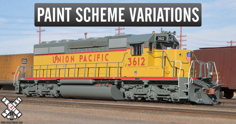 Rivet Counter HO Scale EMD SD40-2, Union Pacific/Mid-80s Repaint