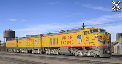 "Museum Quality HO Scale Union Pacific GTEL 8500 HP ""Big Blow"" Turbine #21"