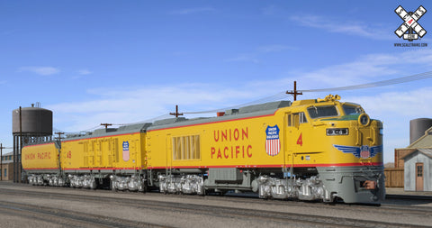 "Museum Quality HO Scale Union Pacific GTEL 8500 HP ""Big Blow"" Turbine #4"
