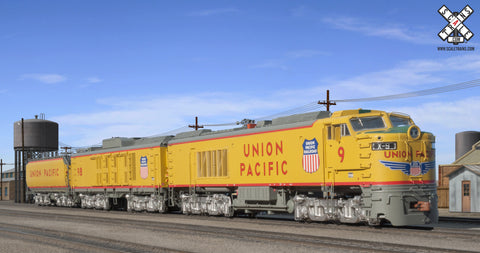 "Museum Quality HO Scale Union Pacific GTEL 8500 HP ""Big Blow"" Turbine #9"