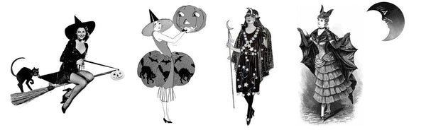 Vintage Inspired Halloween Costume Ideas!