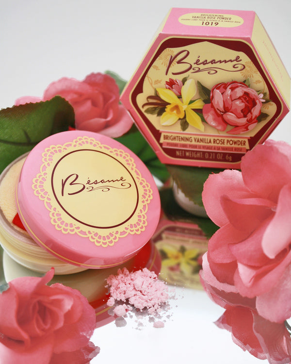 New Vanilla Rose Brightening Powder