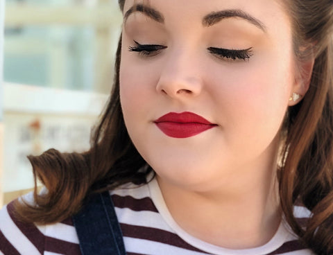 Timeless And Classic Valentine S Day Makeup Besame Cosmetics