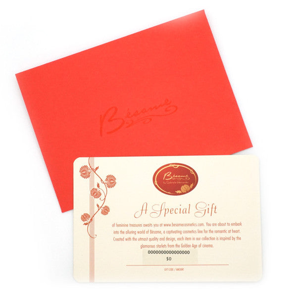 Copy of $50 Gift Certificate, Accessories Besame Cosmetics - 1