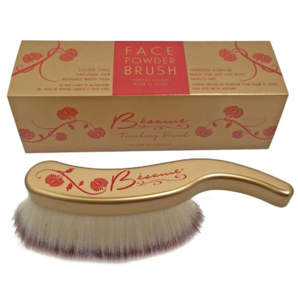Long Hair Finishing Powder Brush