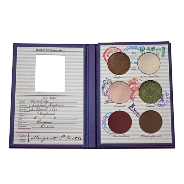 Authentic 1940s Makeup History and Tutorial Agent Carter 1946 Eyeshadow $36.00 AT vintagedancer.com