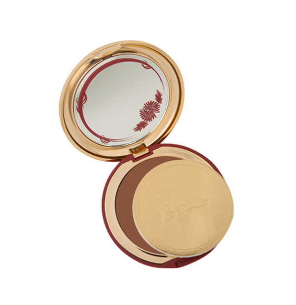 Deep Bronze Cashmere Powder Compact