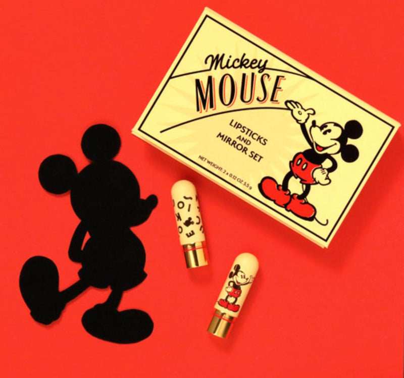 Mickey Mouse Lipsticks & Mirror Set - 1930