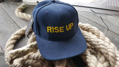 "Hempy's - Baseball Cap ""Rise Up"""