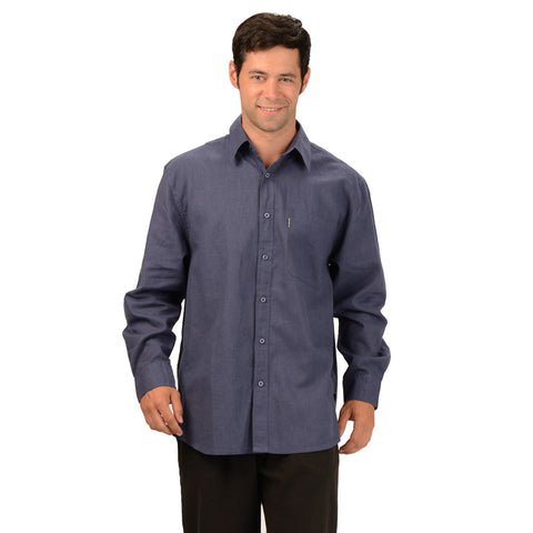 Effort's HempWare - Mens Hemp Long Sleeve Muslin Shirt