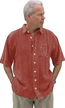 "Dash Hemp - Hemp ""Linen"" Short Sleeve Camp Cruz Shirt"