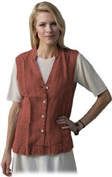 Dash Hemp - Mandarin collar Ming Hemp Vest