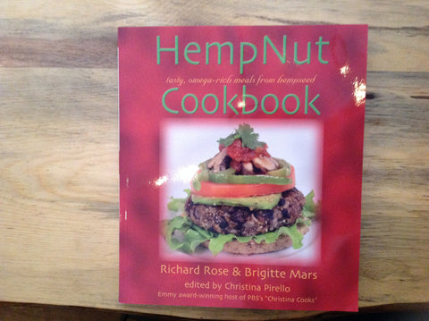 HempNut Cook book by Richard Rose & Brigitte Mars Edited by Christina Pirello