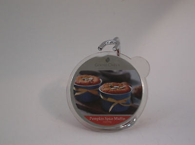 Pumpkin Spice Muffin Wickless Tart Goose Creek Candle 2.1 oz. Wax Melt