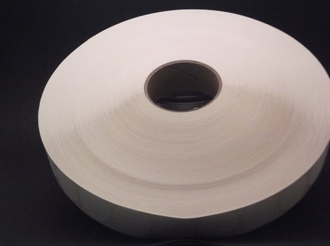 "1"" White Mailing Tabs Wafer Seals"