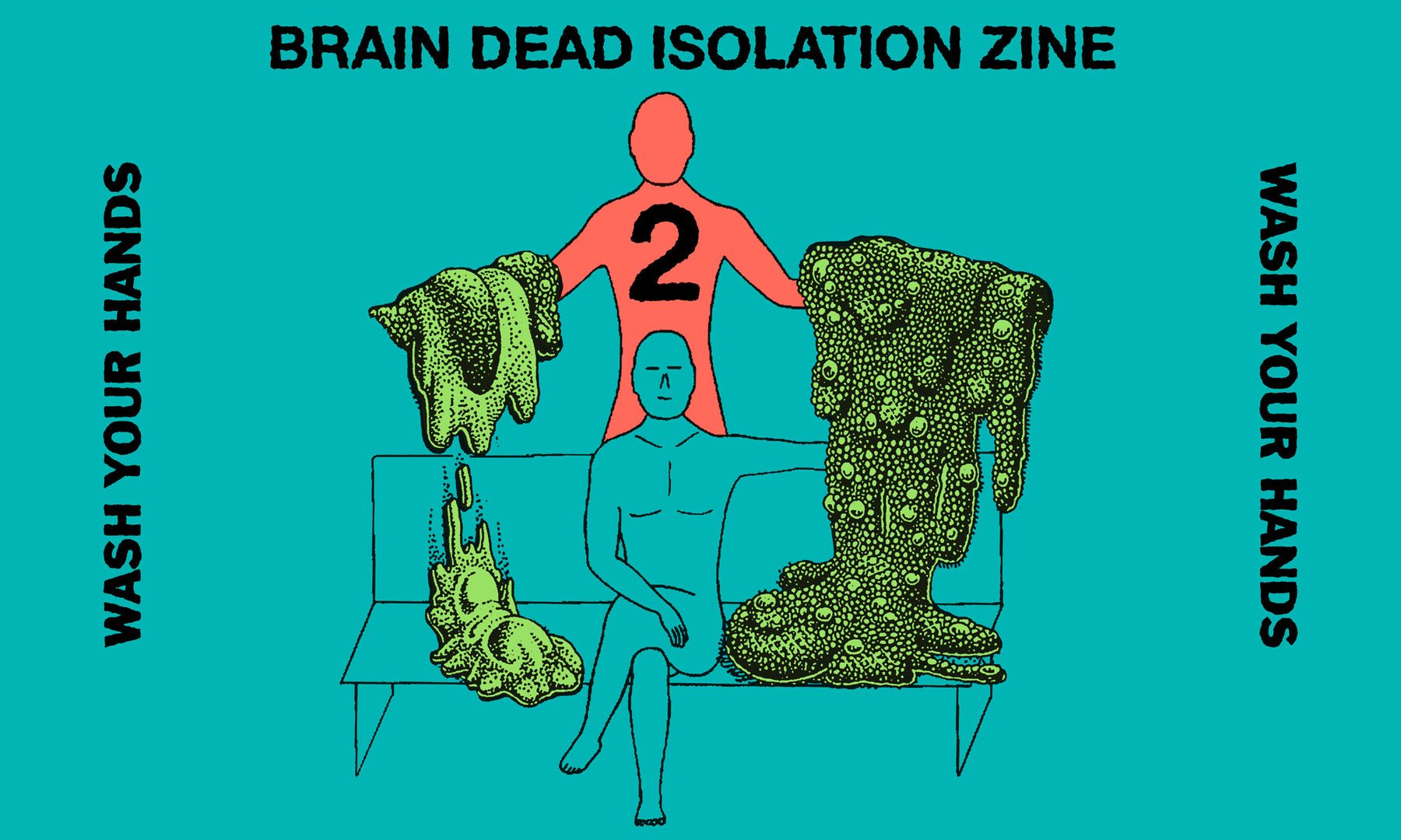 Brain Dead Isolation Zine Vol. 02