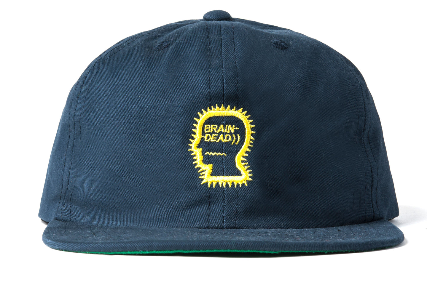 Logo Five Panel Hat - Navy