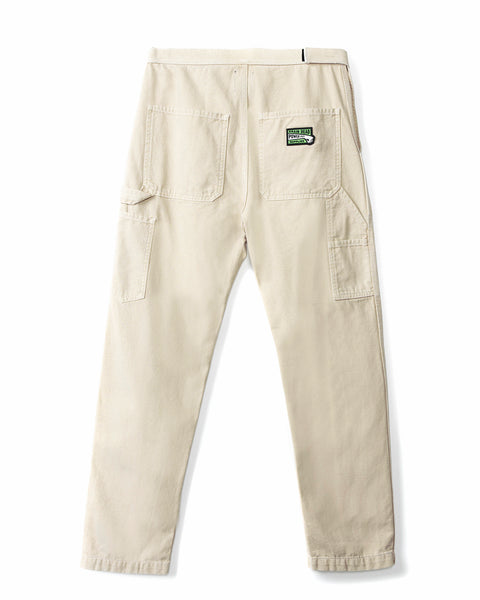 Hard/Software Velcro Carpenter Pant - Natural - Brain Dead