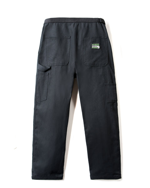 Hard/Software Velcro Carpenter Pant - Black Canvas