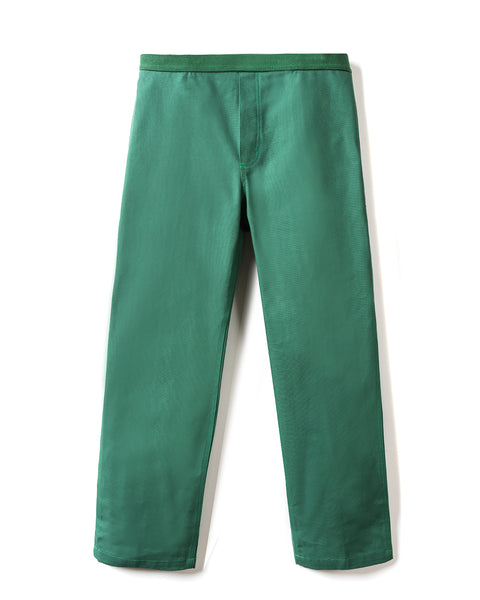 Hard/Software Velcro Carpenter Pant - Forest Canvas