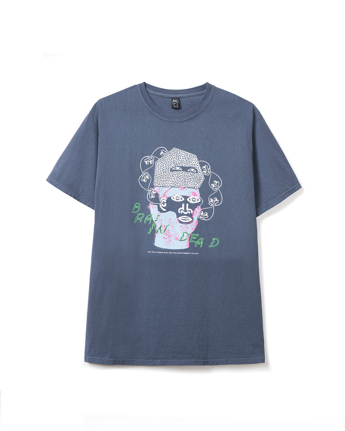 Cure T-shirt - Navy - Brain Dead