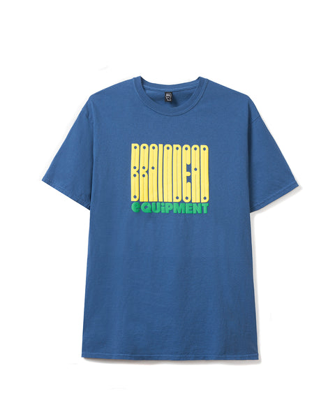 Equipment T-shirt - China Blue - Brain Dead